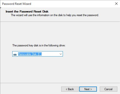 drive containing the system files