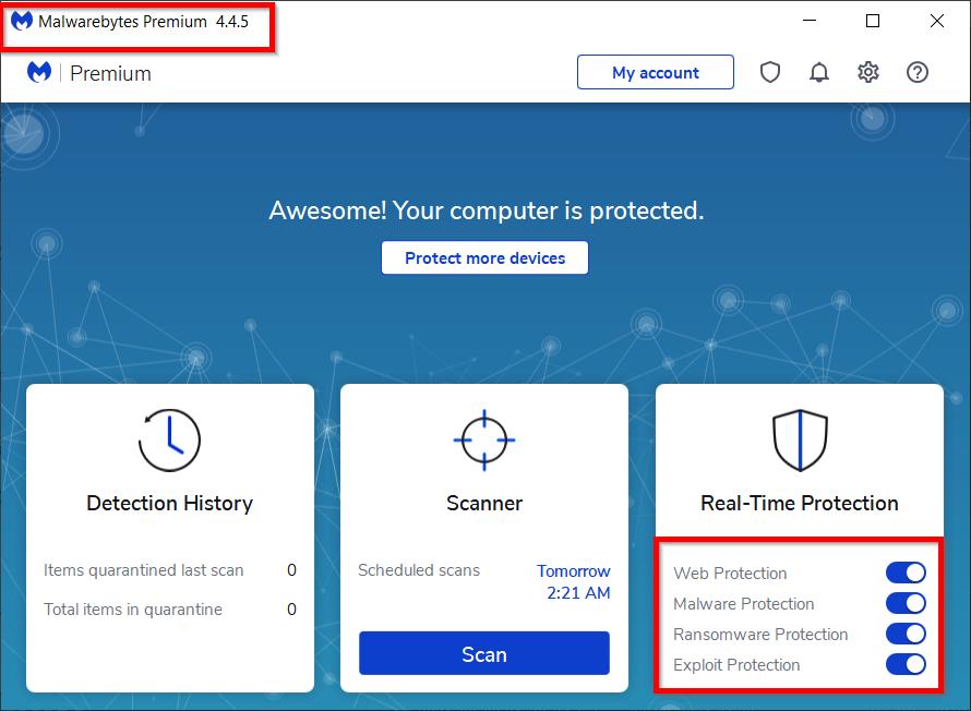 advanced malware detection