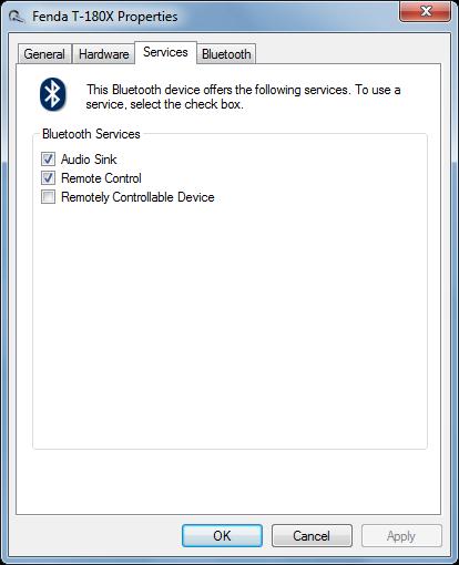bluetooth speaker services