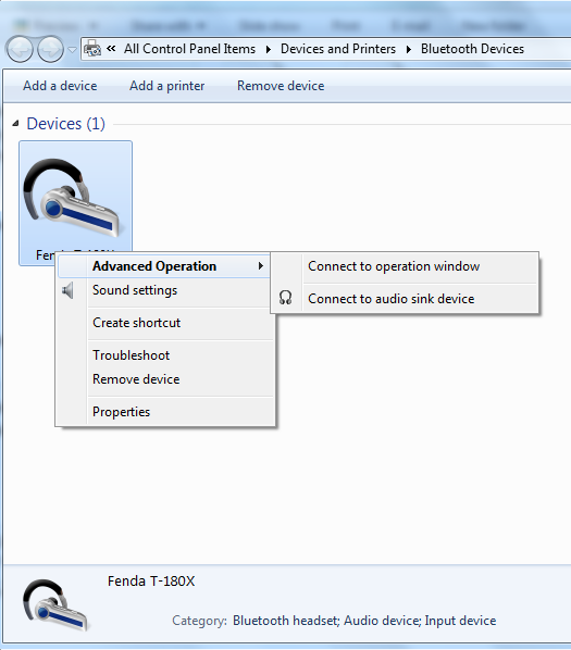 connect bluetooth device to windows